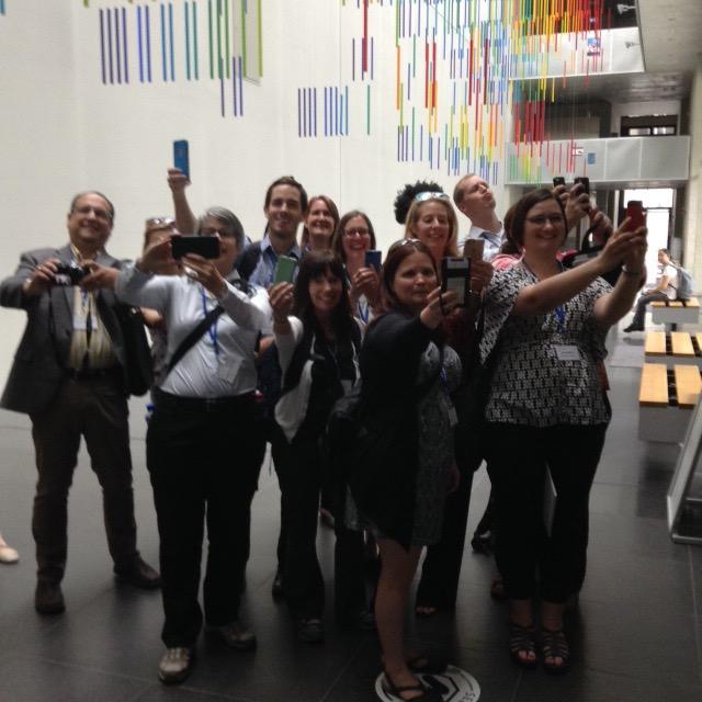 Mass Selfie at TU Dresden